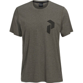 Peak Performance Track SS Tee Men Terrain Green Melange